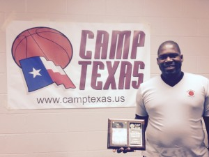 2015 Camp Texas Shoe's Award
